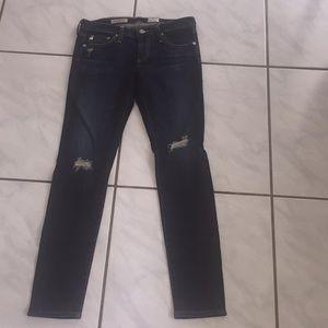 NWT AG Jeans Skinny Ankle Legging 26